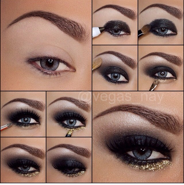 I love this look for New Years!
