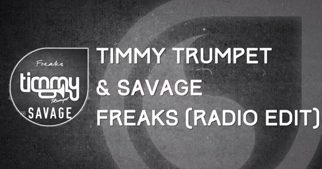 Freaks-Timmy Trumpet  This song is LOUD! Great for a late night party