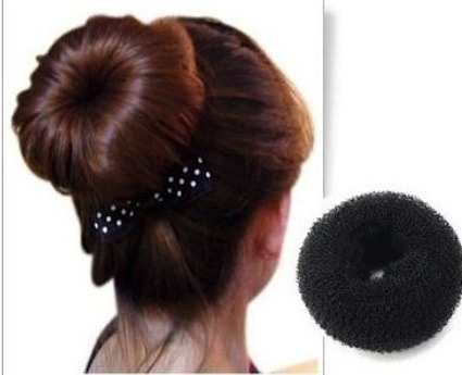 If you don't have much time to get ready and you need something quick, a bun is perfect for you. The other benefit of a bun is the next day you will just have to take your bun down and you will have bouncy curls! You can also sleep in a bun! Just remember, to get curls make sure your hair is damp!