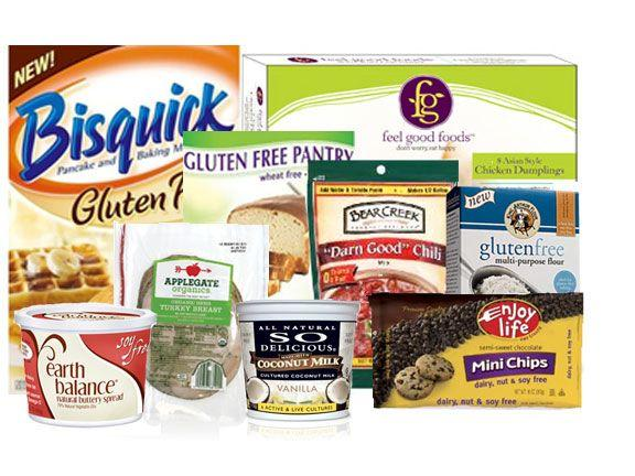 all these are gluten free and can find them at Walmart trader joe's winco and target