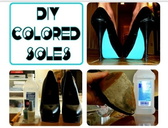 Musely for Diy shoes with nail polish