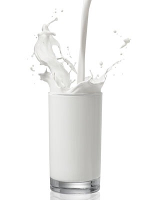 9. Milk Digests slowly and keeps you feeling full