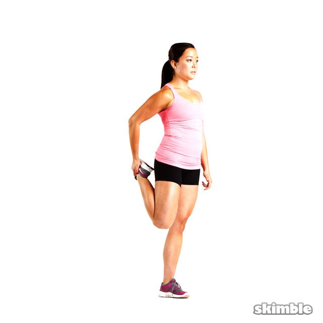 Do this stretch and hold for 10 seconds with each leg