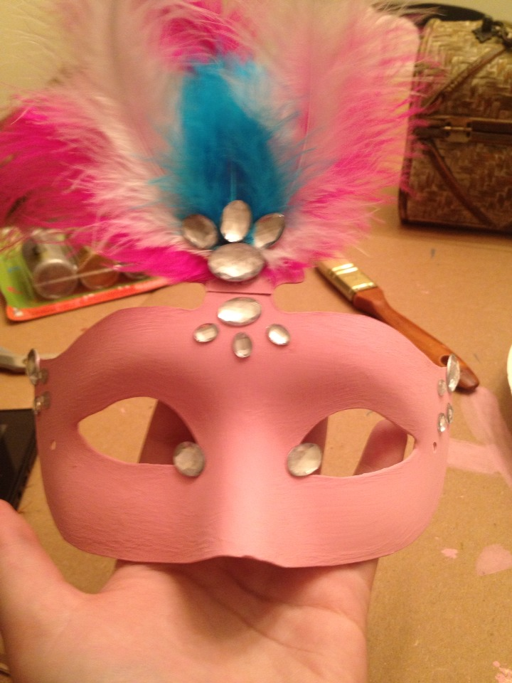 Add feathers and Rhinestones!!