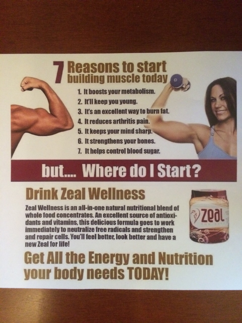 You would have to take 56 pills to receive the nutrients, antioxidants, and vitamins. Instead drink one 6oz of the Zeal Wellness!