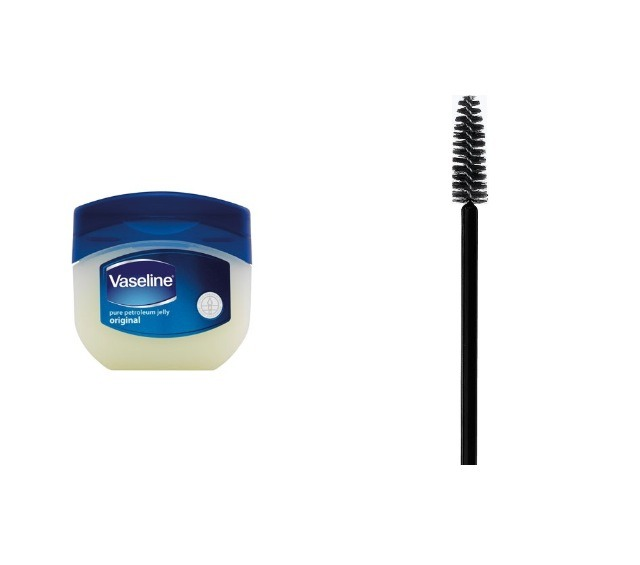 Last but not least I use Vaseline on my lashes to grow . I dip the a old cleaned mascara brush In and put in on like mascara