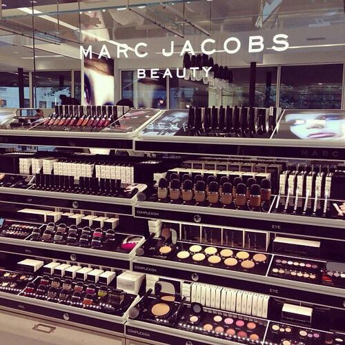 2. When you first step into a makeup store and absorb all of its wondrous beauty.