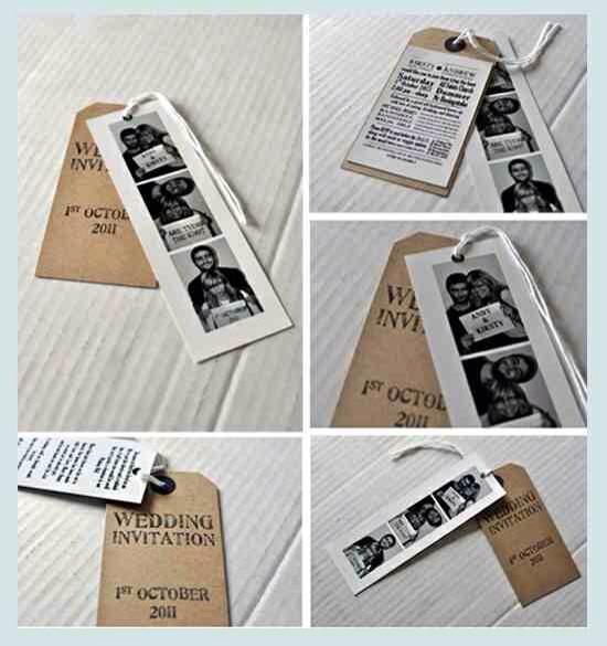 11. Photo Strip Bookmarks