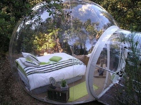 living in a bubble!!