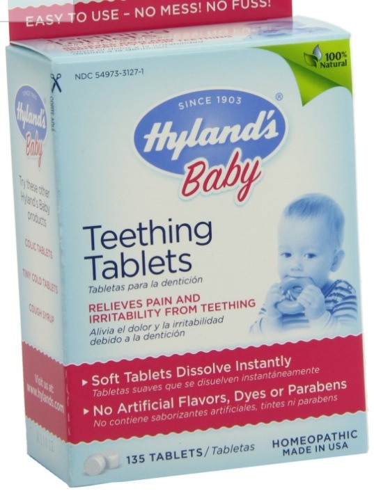 Pop a few hyland teething tablets in your mouth and it helps sooth a sore throat