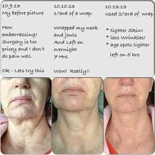 Wraps can take care of this...