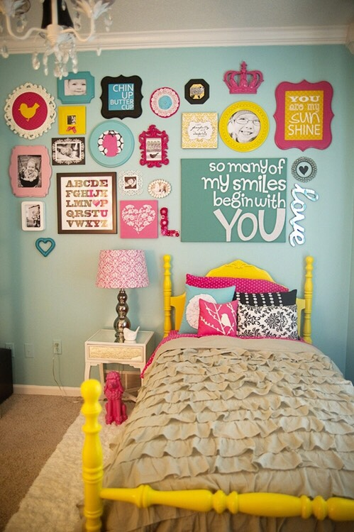 Cute Wall Picture Collages