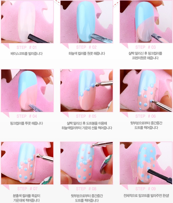 9 Step By Step Nail Designs By Eveline Rodriguez Musely