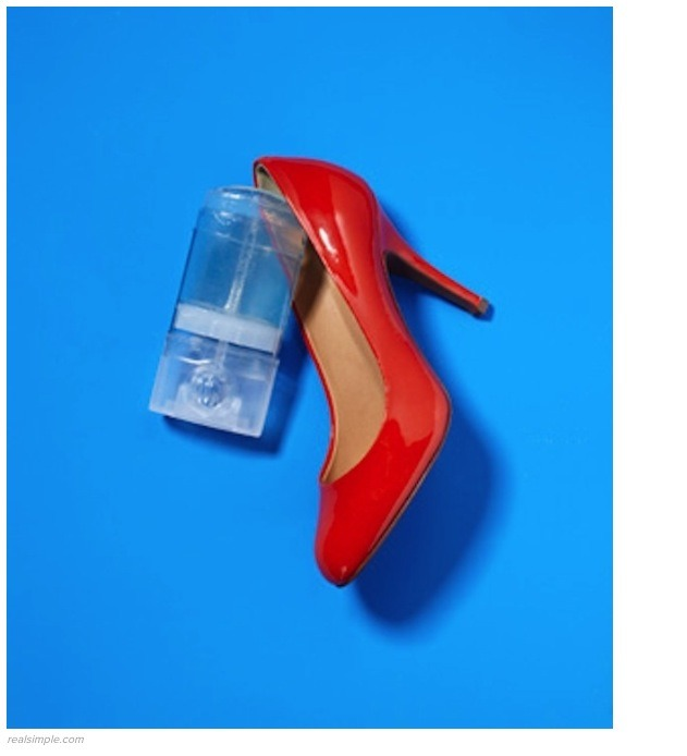use deodorant to prevent blisters when wearing new shoes use the clear gel variety