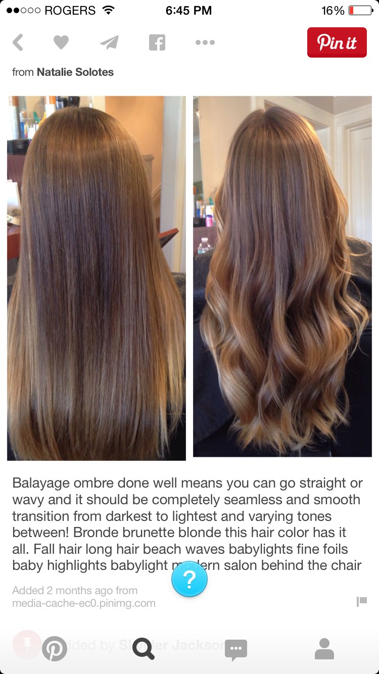 *the perfect balayage*
