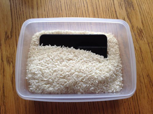 If Your Phone Get Wet Or Falls In The Water Put It Rice Here Are Some Tips