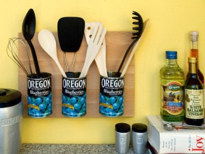 Add functionality, interest, and appeal with this DIY utensil holder.