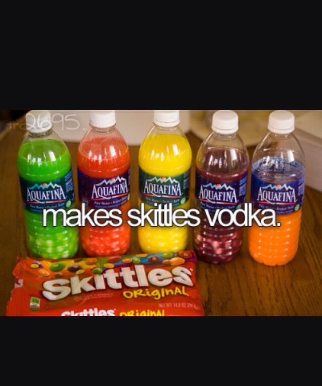 Drink skittle vodka
