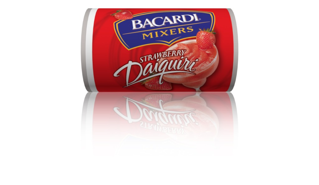 1 can of bacardi margarita mixer