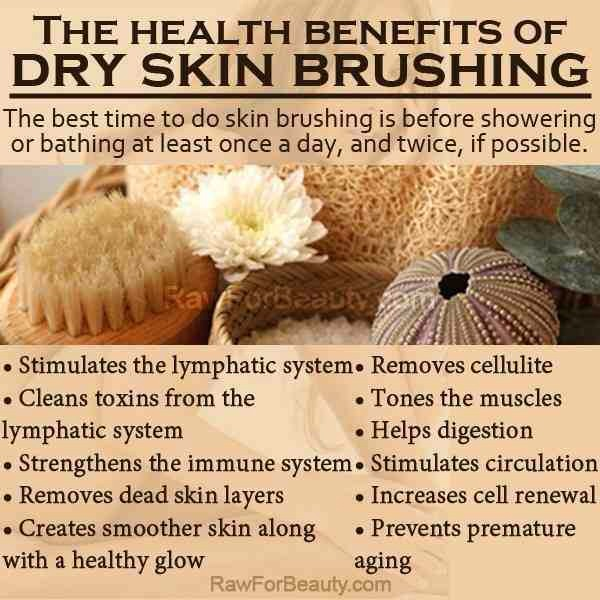 Make sure your skin is completely dry. The best time to do this is in the morning, before a shower.