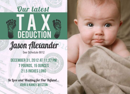 Tax Deduction Just calling it like they see it!