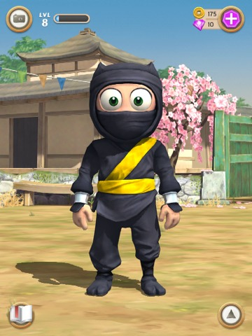 Clumsy Ninja - you are given a cute little ninja and you have to train him so that he can find the girl of his dreams!