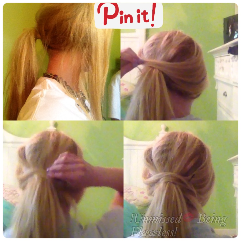 Enjoy this tutorial to get your bangs out of the way and have a cute looking ponytail! 😁❤️👏 (I created a summarized version of the tutorial above so you can snapshot it -double click 😜)