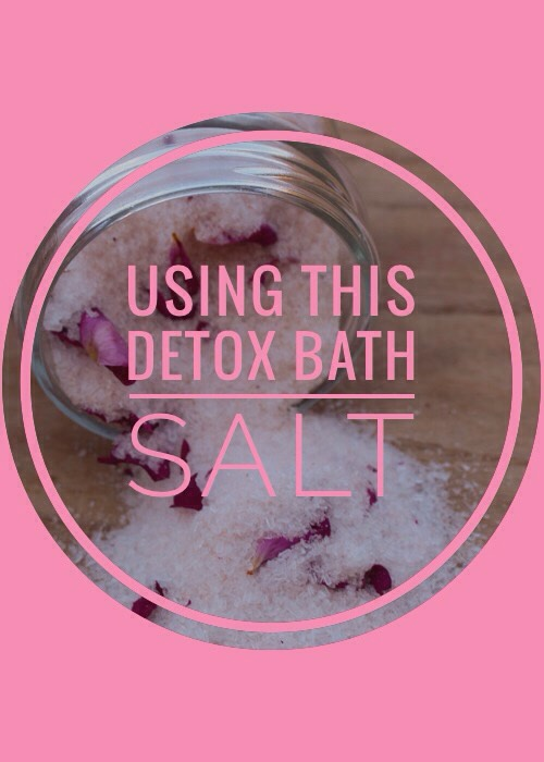 Add the bath salts (the entire 1 ¼ cups) to a small amount(I usually cover the bottom of the whole tub with water; it's almost ankle deep, but not quite)of hot water.Swirl to dissolve. Finish fillingtub with warm water. Soak in the tub (with the solution) for 30 minutes.