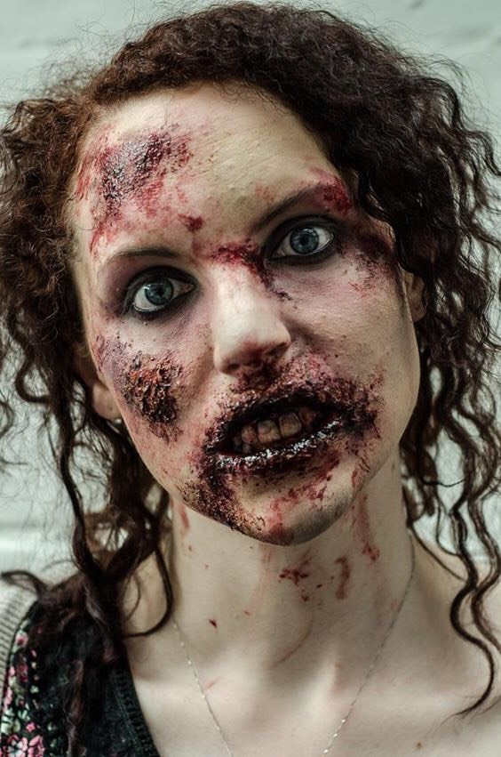 I think your ready to try out for the walking dead.