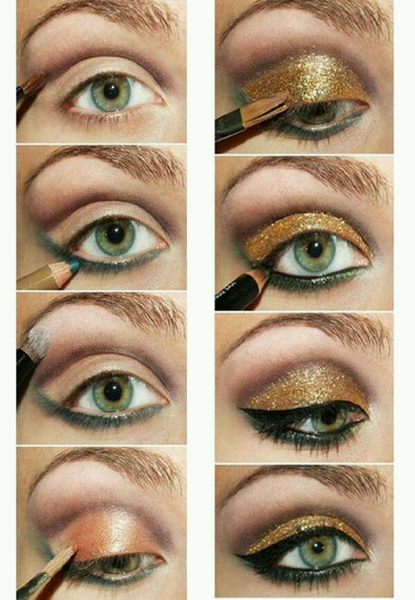 golden eyes tutorial