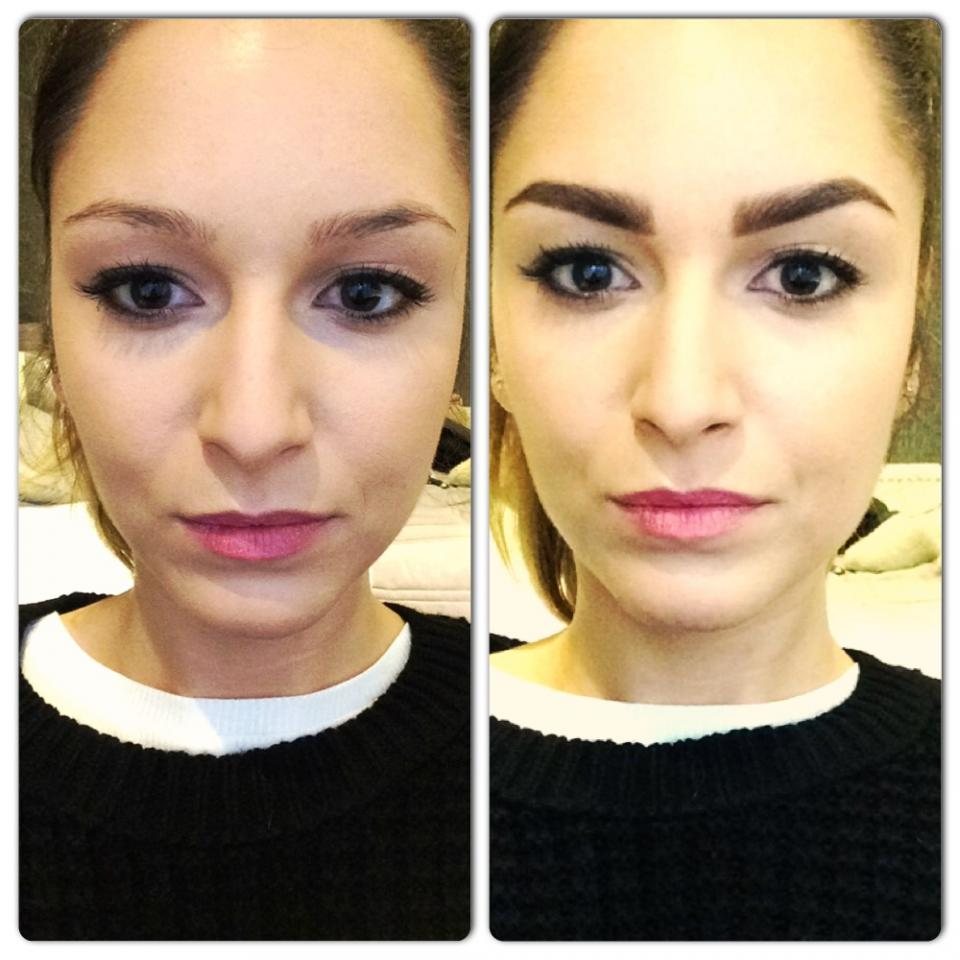 How To Fill In Shape Tweeze Trim And Transform Your Eyebrows By