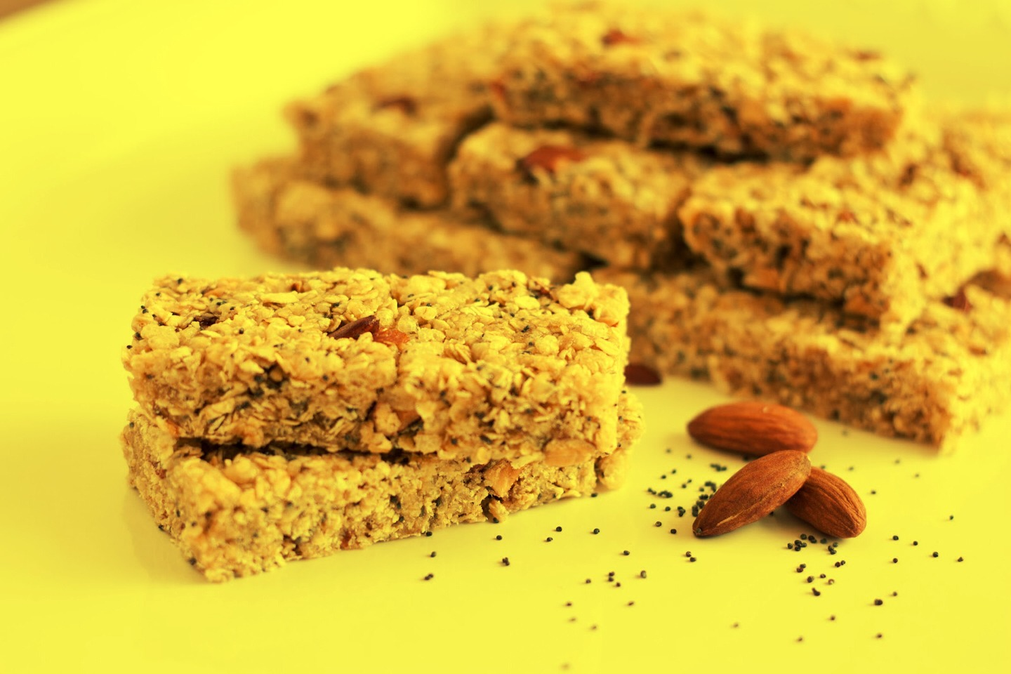 As much as they tell you how healthy they are. Granola bars/ cereals ARE unhealthy.
