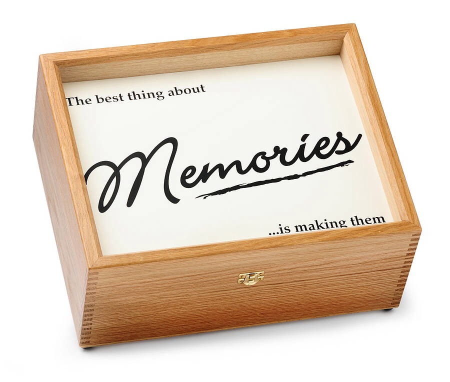 Have a memory box! When you receive something you wish to keep put it in the box. If something good happens to you, write it down and put it in the box. If you are ever feeling down, just open it up and reflect on the good times.