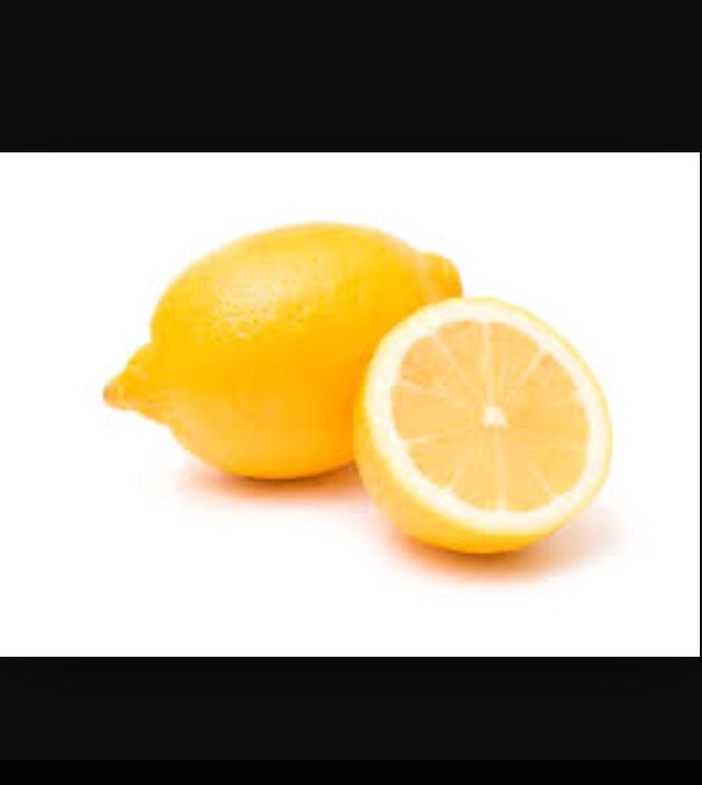 Add half of the lemon to your drink and mix the juice