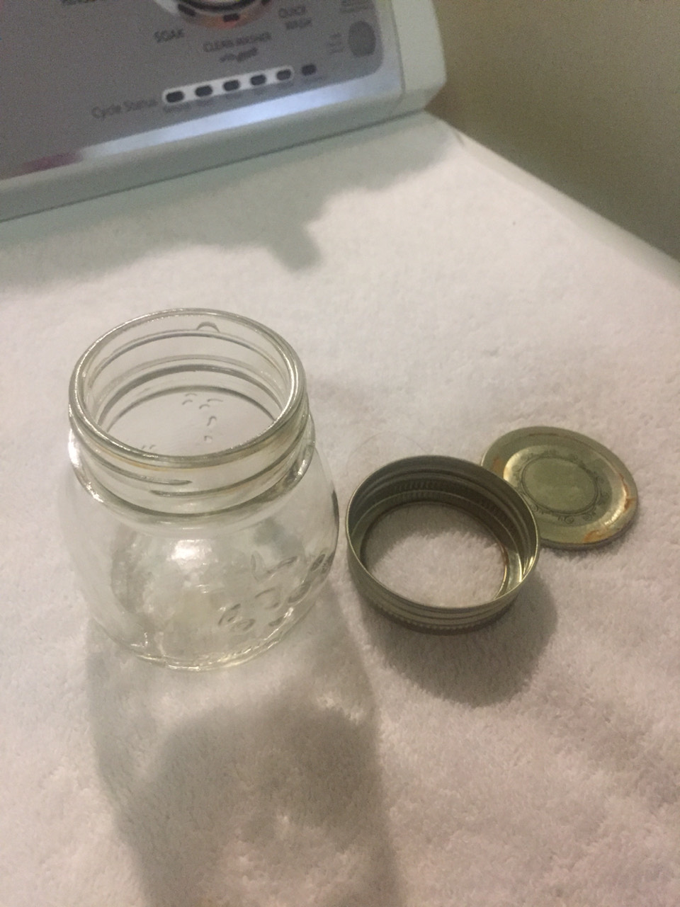 A jar or something to hold the rest of the ingredients