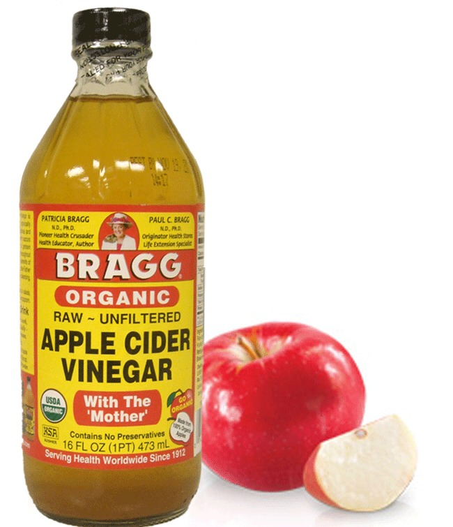 Once a week, rinse hair with apple cider vinegar.  It helps clean build up and helps hair look shiny.