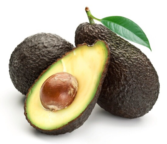 Avocado:  • face mask • deep conditioner • facial cleanser • eye treatment  • softens hands