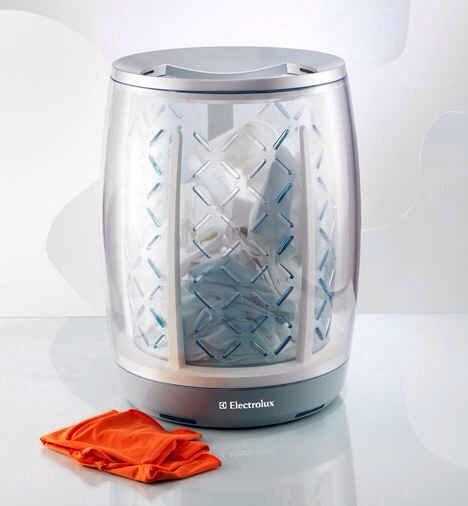 4. A hamper/washer/dryer all in one.