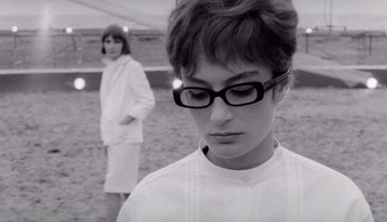 "Anouk Aimée in 8 ½, 1963 ""For me, it's Anouk Aimée's shaggy pixie in 8 1/2, and inseparable from the cut, those glasses! I've been searching for them for years.""  —Susan Gordon, Vogue.com Copy Editor"