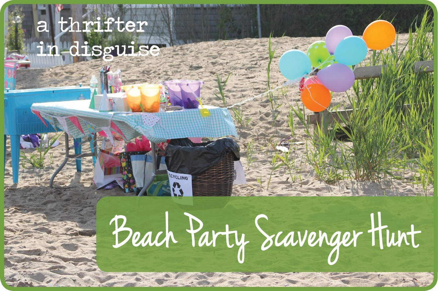 Have a scavenger hunt ... Better yet go to the  beach and have people find the coolest items they can, then all join up again and look at the treasures you've found