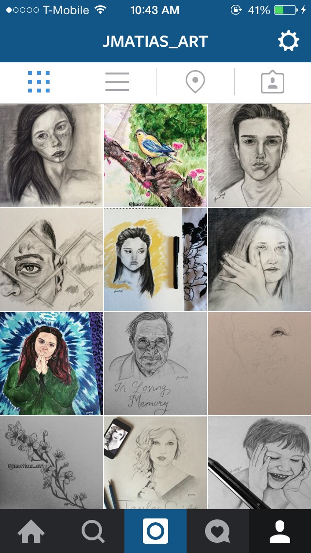 Follow my art IG - Jmatias_art I greatly appreciate it! Let me know you saw this here so I can follow you back!😊