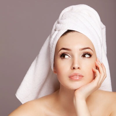 Dry hair gently--when you roughly dry your hair and twist it up after your shower your damaging and fraying your hair shaft.  (makes hair look dull and frizzy)