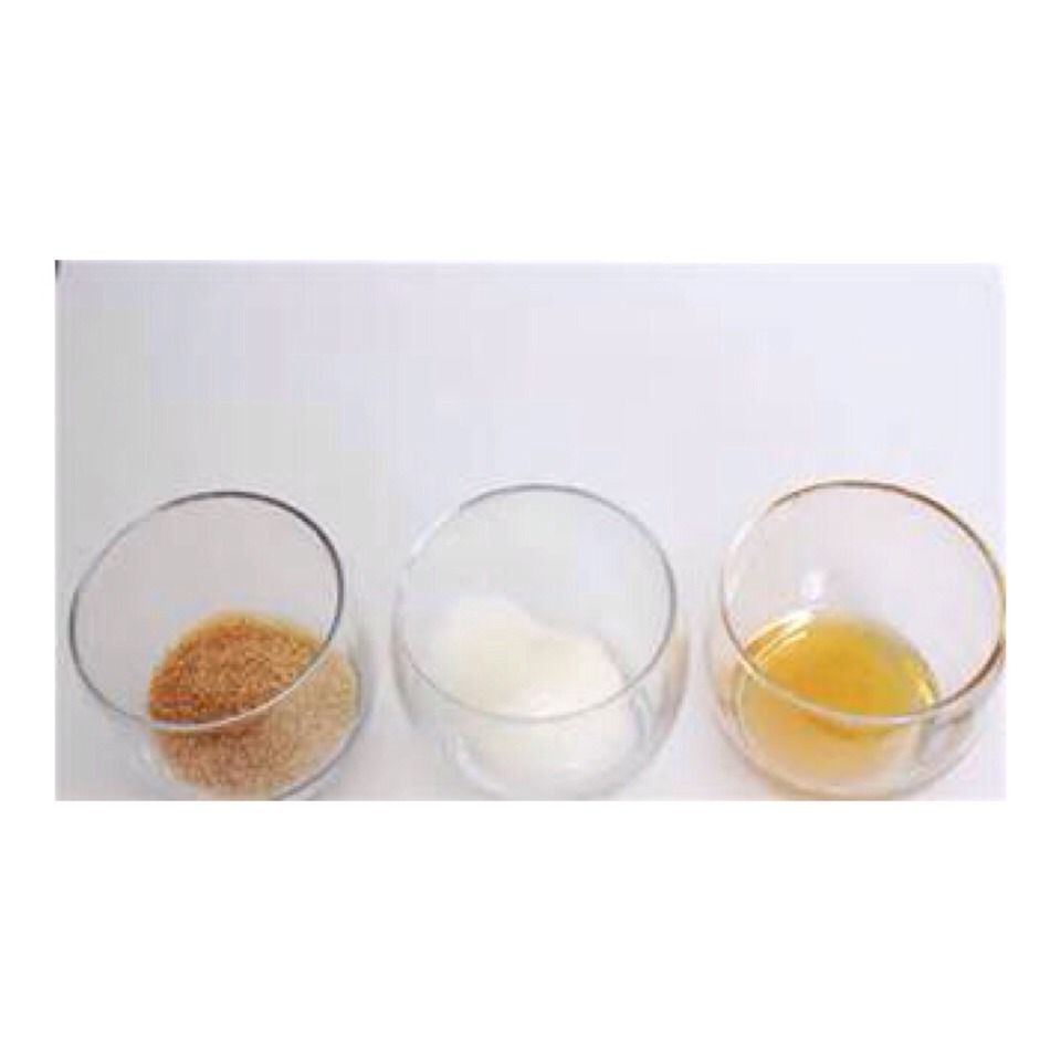 All you need is three simple ingredients. Sugar(any type), coconut oil, and honey  Use 1 tablespoon of every ingredient