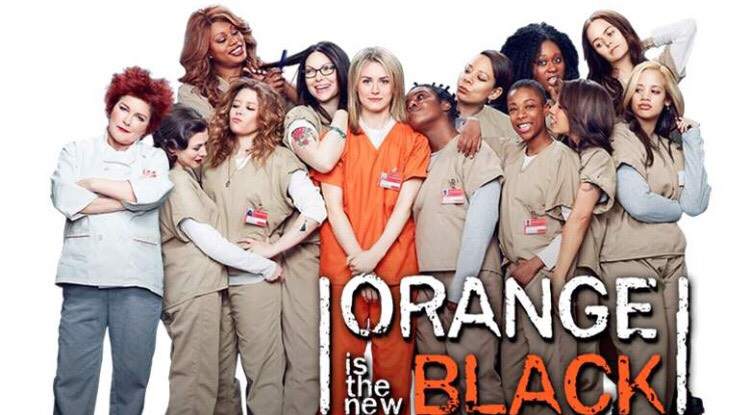 Orange is the new black (oitnb) is a women's prison show, more laid back, not much violence  and definitely  a huge different from Wentworth but still an awesome show !