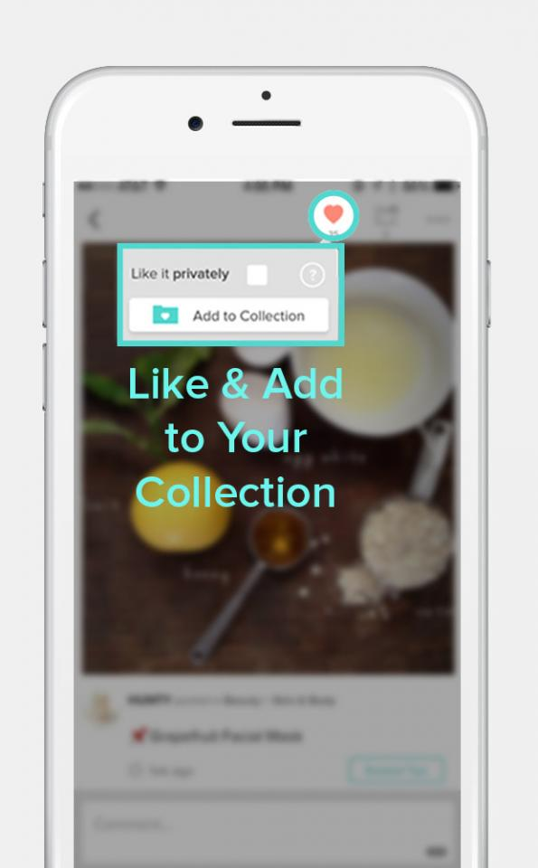 Did you find a tip you love?  Be sure to like & add it to your personal collection. You can even share your favorite tips with friends on social media & more.