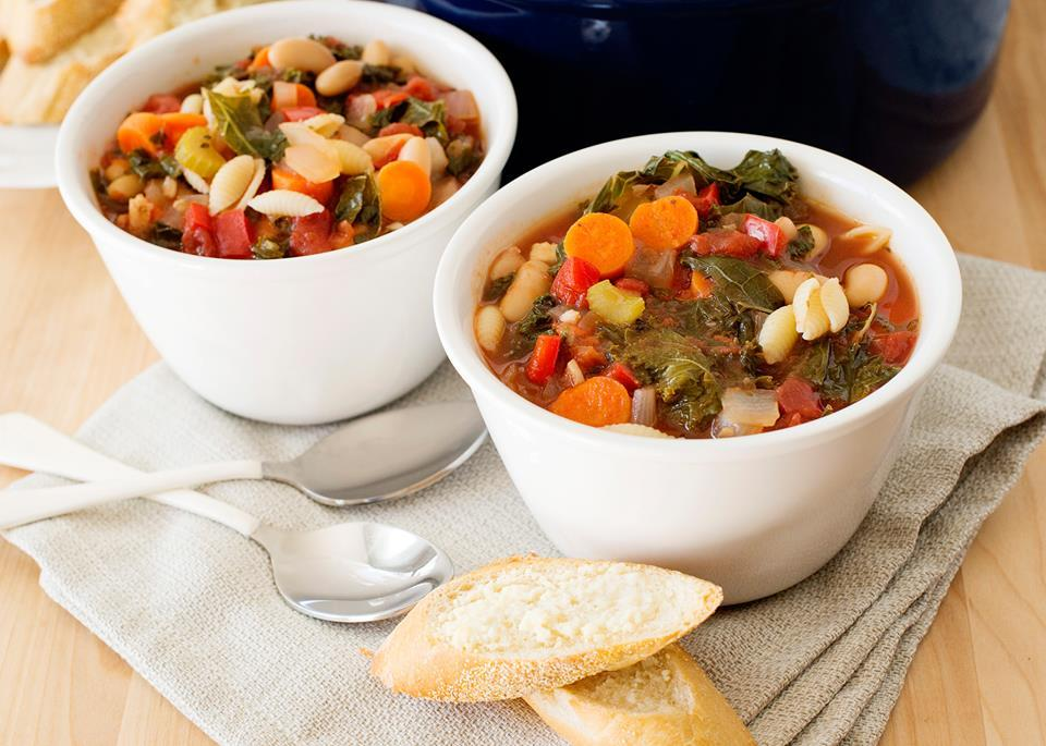 This hearty vegetarian soup is one of my absolute favorites. It is warm, soothing and is on the table in 30 minutes.