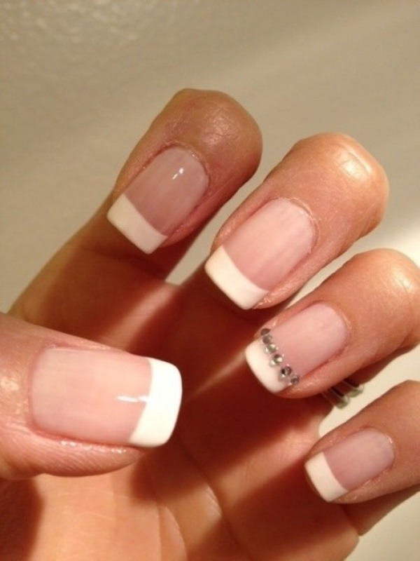Soak your nails in dawn to make them soft and easy to work with it removes oils so nail polish will dry faster.