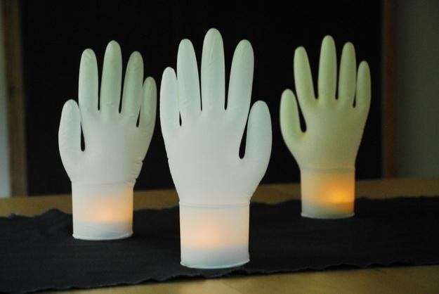 13. Inflated Glove Lights