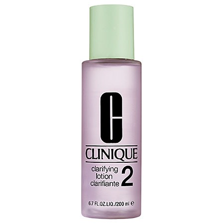 Clinique toner will help with oily and dry skin also is great before applying make up leaves your skin glowing.