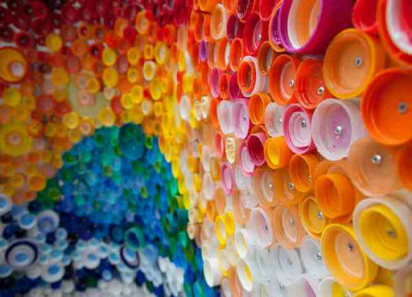 Cool art for your wall with bottle caps